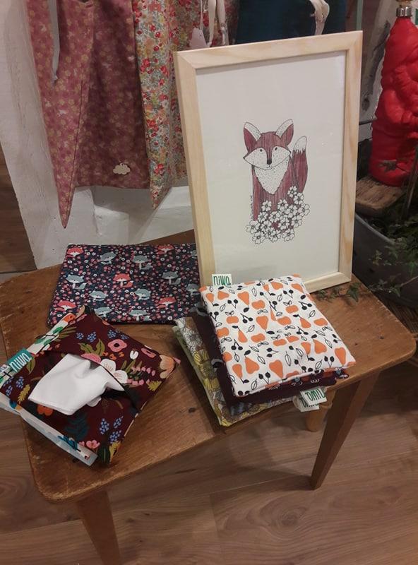 renards et mouchoirs